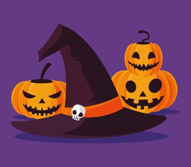 Halloween pumpkins cartoons