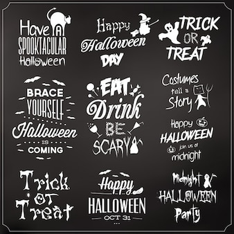 Halloween quotes collection