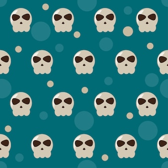 Halloween seamless pattern background for textile fabric swatch wallpaper t shirt wrapping