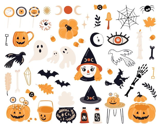 Хэллоуин с элементами.