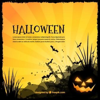 Хэллоуин луч фон