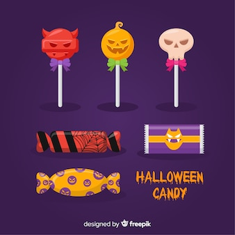 Halloween sweets collection