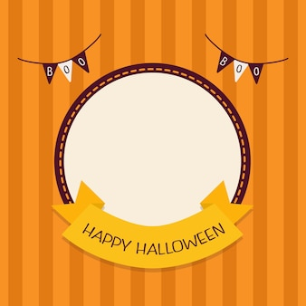 Halloween template design