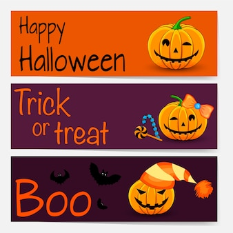Halloween template for text with holiday attributes. cartoon style.