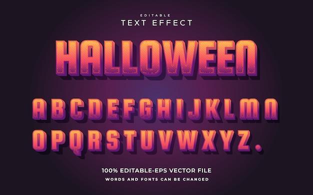 Текстовый эффект хэллоуина