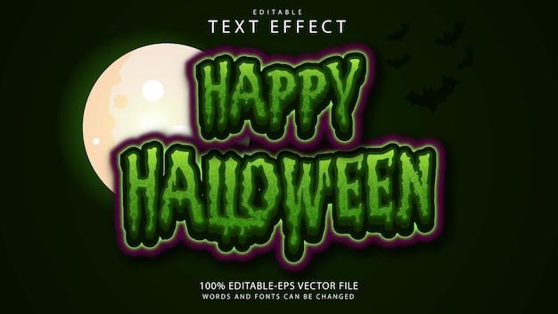 Halloween text effect