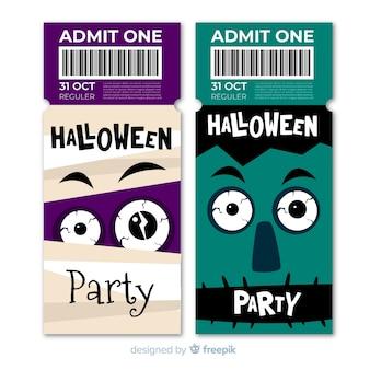 Halloween tickets