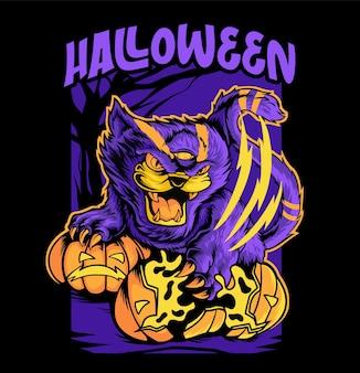 Halloween vector tshirt template halloween tshirt template