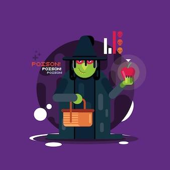 Хэллоуин-ведьма 2
