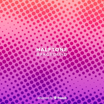 Haltone background