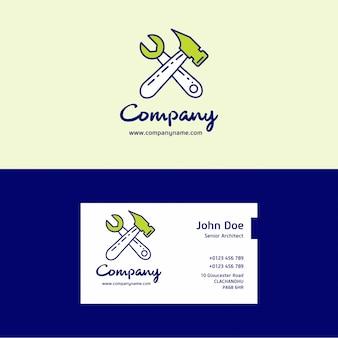 Логотип и карта компании hammer