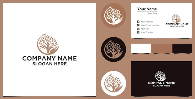 손과 잎 컨셉 내츄럴 케어 로고 디자인 프리미엄
