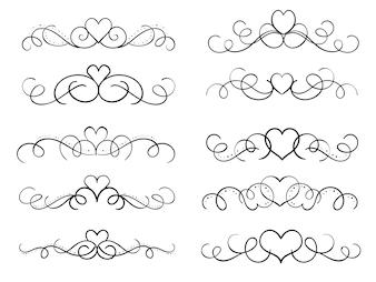 Hand draw swirl