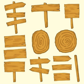 Hand draw wooden tablets