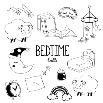 Hand drawing bedtime stuff