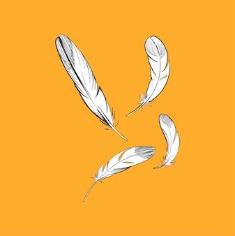 Иллюстрация ручного рисунка концепции свободы