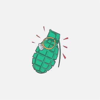 안전 개념의 핸드 드로잉 일러스트