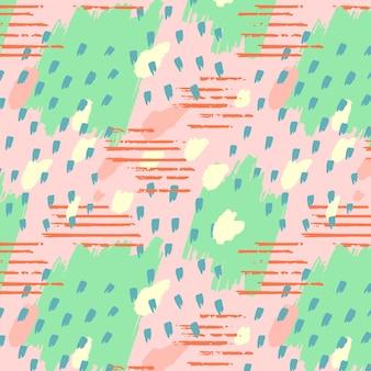 手描きの抽象的な要素パターン