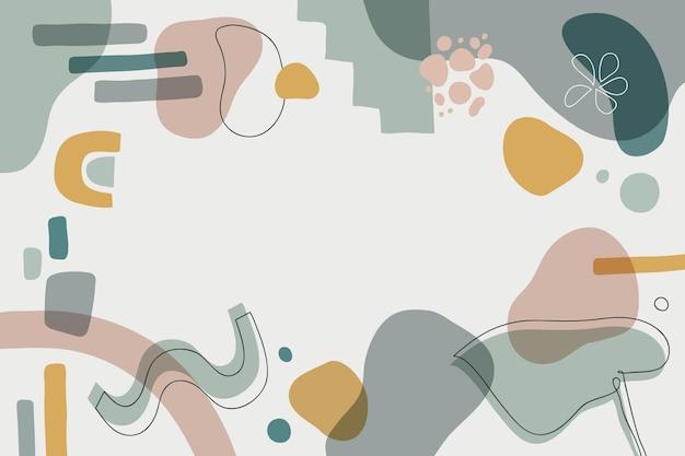 Ручной обращается абстрактные формы фон