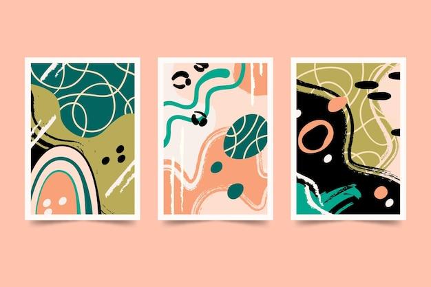 Коллекция рисованной абстрактных фигур