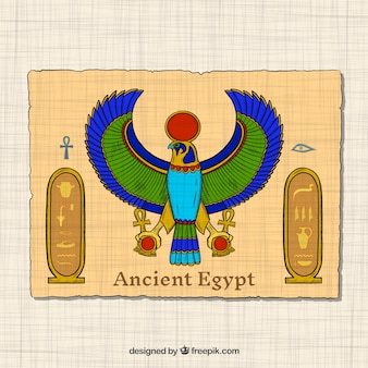 Hand drawn ancient egypt concept