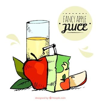 Succo di mele a mano