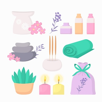 Ручной обращается элементы ароматерапии