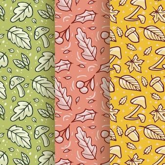 손으로 그린가 패턴 컬렉션
