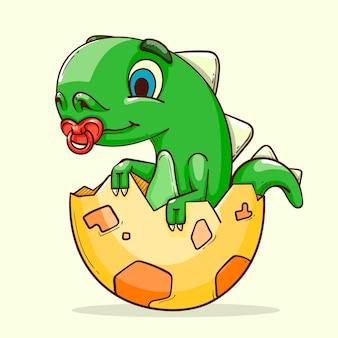 Ручной обращается маленький динозавр