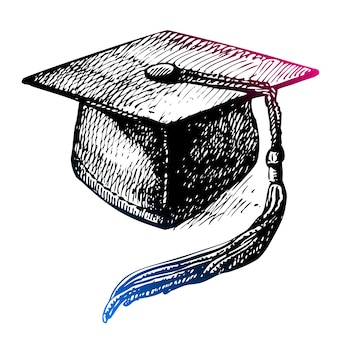 Hand drawn back to school sketch. vector illustration