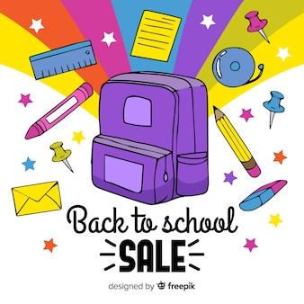 Ручной обращается обратно в школу продажи