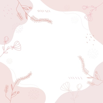 Hand drawn background of various cute shape.