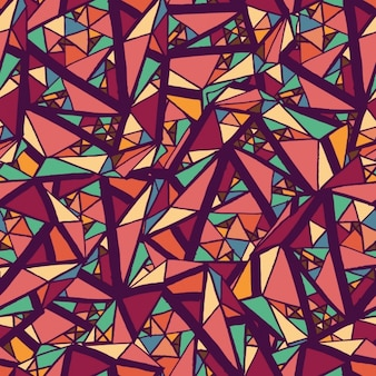 Sfondo disegnato a mano con elementi geometrici