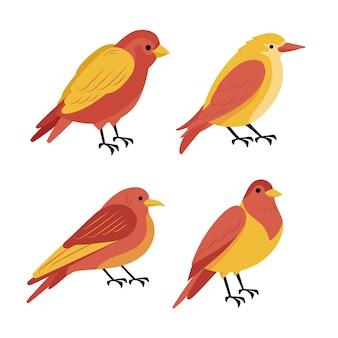 手描き鳥コレクション