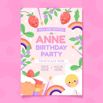 Ручной обращается приглашение на день рождения