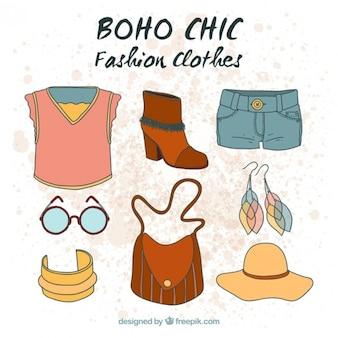 Ручной обращается одежда boho в стиле хиппи