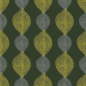Ручной обращается бохо бесшовный фон абстрактные пунктирные формы натуральный этнический бесшовный текстиль и ткань ...