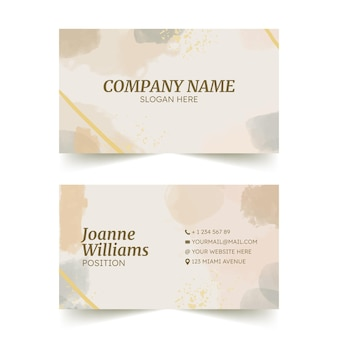 Hand drawn business cards