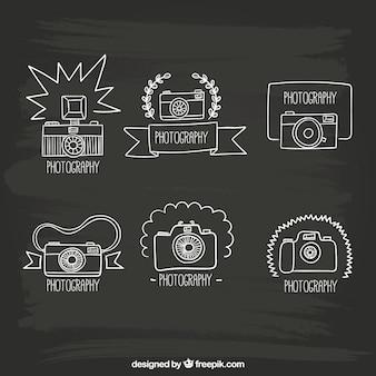 Hand drawn cameras