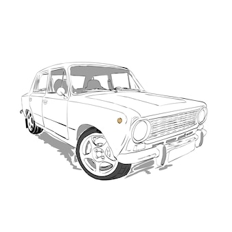 Old Car Vectors Photos And Psd Files Free Download