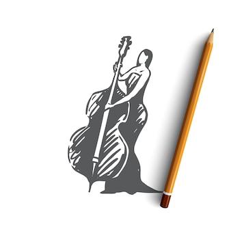 Виолончельный музыкант