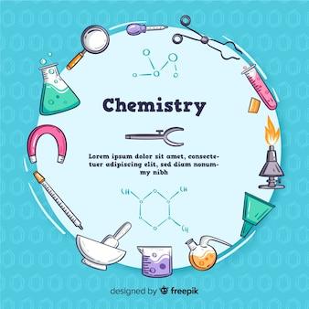 Ручной обращается фон химии