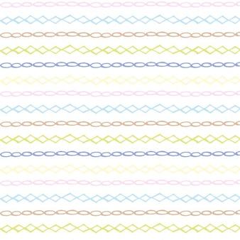Hand drawn childish pattern