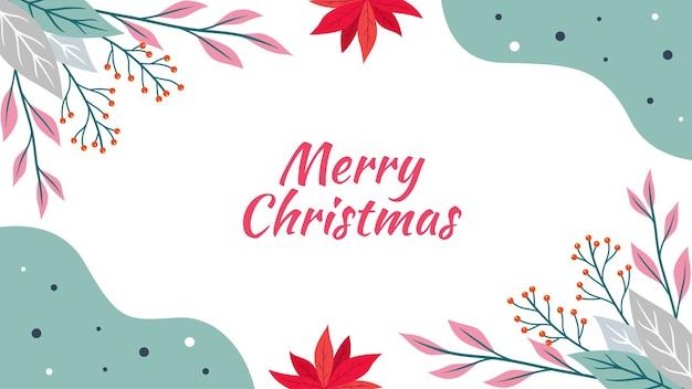 Hand drawn christmas background 3
