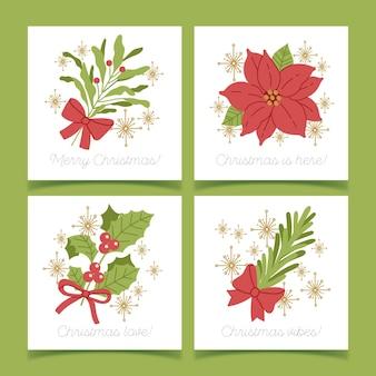 手描きのクリスマスカードコレクション