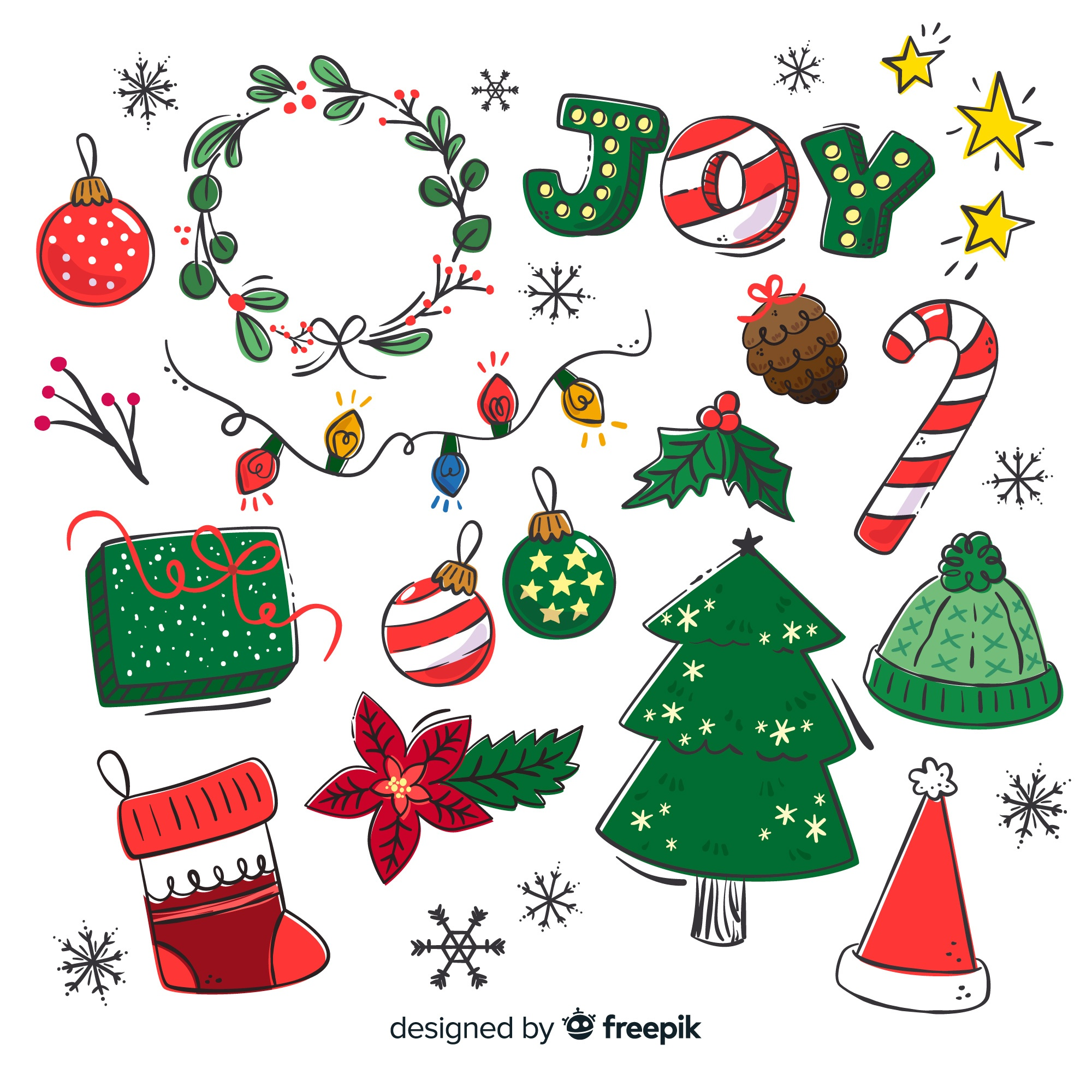 Christmas vectors, +86,200 free files in .AI, .EPS format
