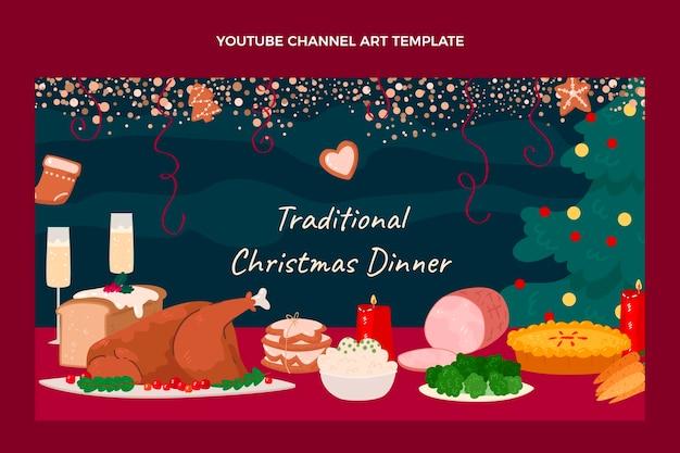 手描きのクリスマスフードyoutubeチャンネル