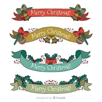 Ручная коллекция рождественских лент