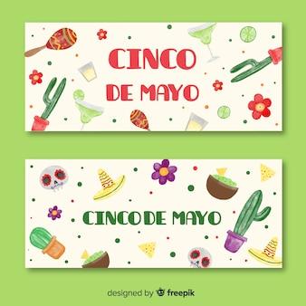 Beautiful Cinco De Mayo Background Vector | Free Download