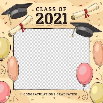 Ручной обращается класс шаблона кадра 2021 года